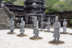 Túmulo real Vietnam foto de stock