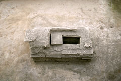 Túmulo romano Imagens de Stock