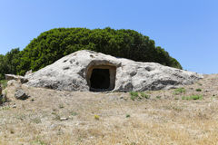 Túmulo Sa Domu e S'Orcu Foto de Stock Royalty Free