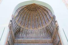 Túmulo verde na cidade de Bursa Foto de Stock