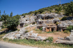 Túmulos antigos Imagens de Stock