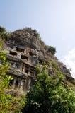 Túmulos de Lycia. Imagens de Stock