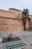 Túmulos de Saadian em C4marraquexe, Marrocos Fotografia de Stock