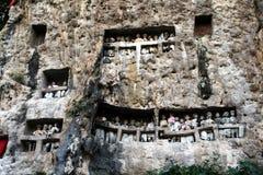 Túmulos de Toraja fotos de stock royalty free