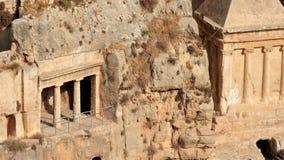 Túmulos do Vale de Kidron - Israel vídeos de arquivo