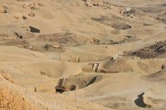 Túmulos egípcios antigos foto de stock royalty free