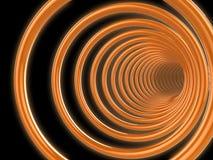 túnel 3d Imagens de Stock