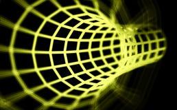 túnel 3D abstrato ilustração stock