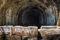 Túnel abandonado Fotografia de Stock Royalty Free