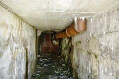 Túnel abandonado velho Foto de Stock