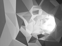Túnel abstracto ilustración del vector