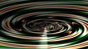 Túnel abstracto del fractal almacen de metraje de vídeo
