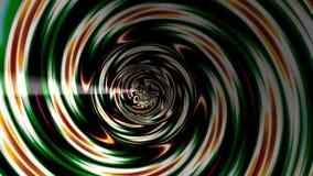 Túnel abstracto del fractal almacen de video