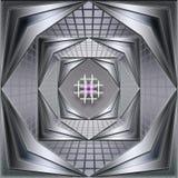 Túnel abstracto del modelo Fotos de archivo