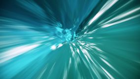 Túnel abstracto en color azul stock de ilustración