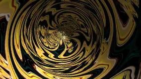 Túnel abstrato do fractal video estoque