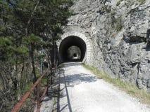 Túnel após o túnel Imagens de Stock
