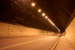 Túnel bajo tierra Foto de archivo
