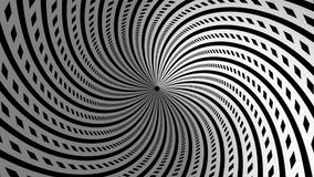 Túnel blanco negro de la cantidad abstracta del fondo stock de ilustración