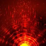 Túnel brillante colorido abstracto del círculo Imagen de archivo