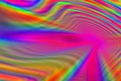 Túnel colorido Fotos de Stock Royalty Free