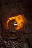 Túnel colorido da mina de prata Imagens de Stock Royalty Free