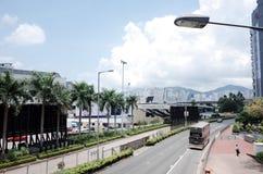 Túnel cruzado del puerto Fotos de archivo libres de regalías