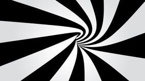 Túnel curvado ilustração do vetor