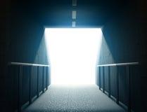 Túnel 3d de la arena ilustración del vector