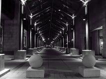 Túnel da coluna Imagem de Stock