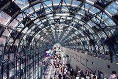 Túnel da estação da união de Toronto imagens de stock