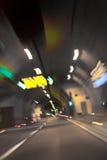 Túnel da estrada Fotos de Stock