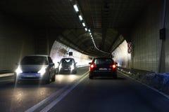 Túnel da estrada Fotos de Stock Royalty Free