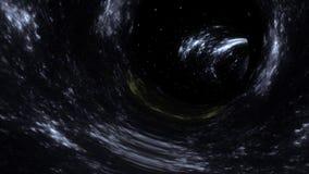 Túnel da galáxia ilustração royalty free
