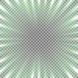 Túnel da luz, cor verde ilustração royalty free