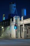 Túnel da morte, Montreal, Canadá (2) foto de stock