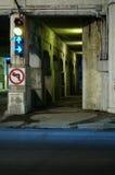Túnel da morte, Montreal, Canadá (4) fotografia de stock