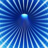 Túnel da tecnologia do borrão ilustração do vetor