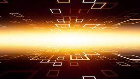 Túnel de alta tecnología de los datos