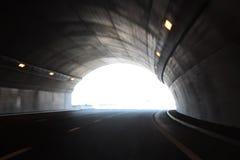 Túnel de alta velocidad Imagen de archivo libre de regalías