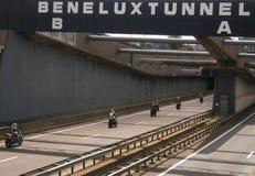 Túnel de Benelux Fotos de archivo