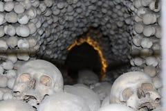 Túnel de cráneos Fotografía de archivo