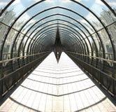 Túnel de desaparecimento Fotos de Stock Royalty Free