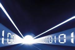 Túnel de Digitas Imagem de Stock