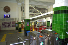 Túnel de Estambul Imagen de archivo