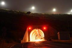 Túnel de golden gate bridge Imagens de Stock