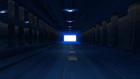 Túnel de HD stock de ilustración