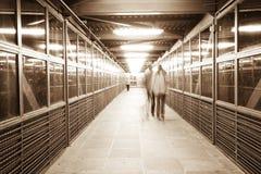 Túnel de Hoboken Imagenes de archivo