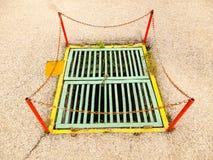 Túnel de la alcantarilla Fotografía de archivo libre de regalías