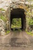 Túnel de la cala del hierro fotografía de archivo libre de regalías